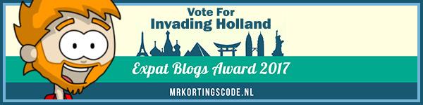 Mrkortingscode Expat Blog Award Banner