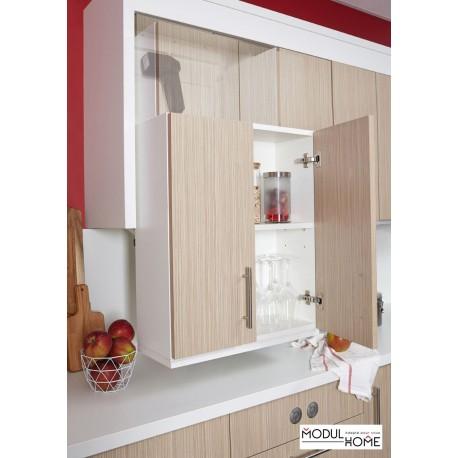 meuble haut de cuisine a hauteur variable