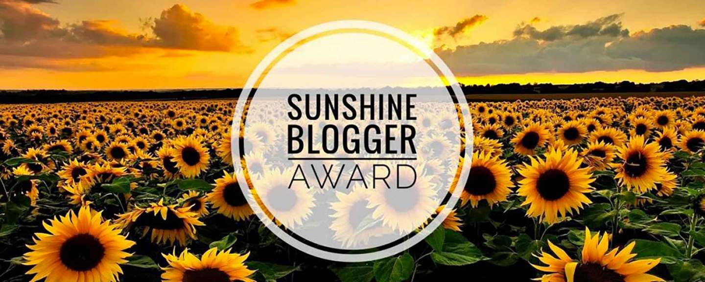 Sunshine blogger award 2021