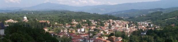 Vista panoramica di Bedonia