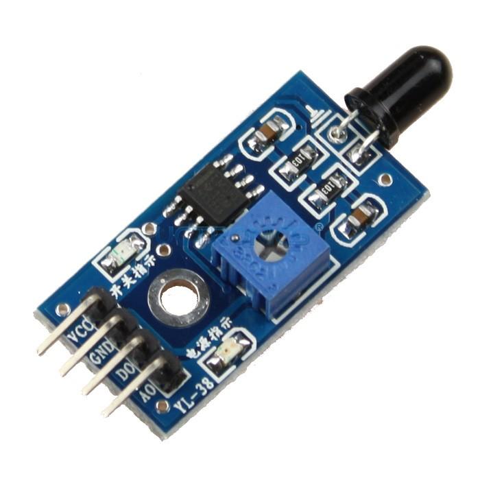 Flame sensor invent electronics