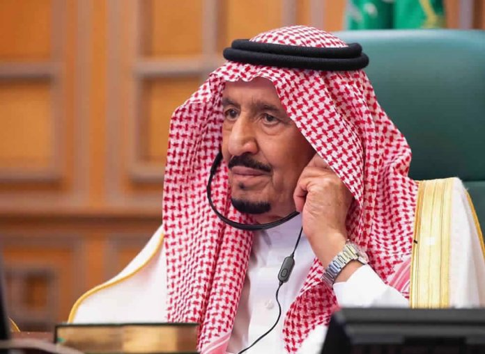 Saudi king points to Iran as top threat in policy speech