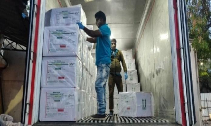 5 5 lakh corona vaccine doses to reach patna on tuesday national health medicine coronavirus vaccine hunt latest news