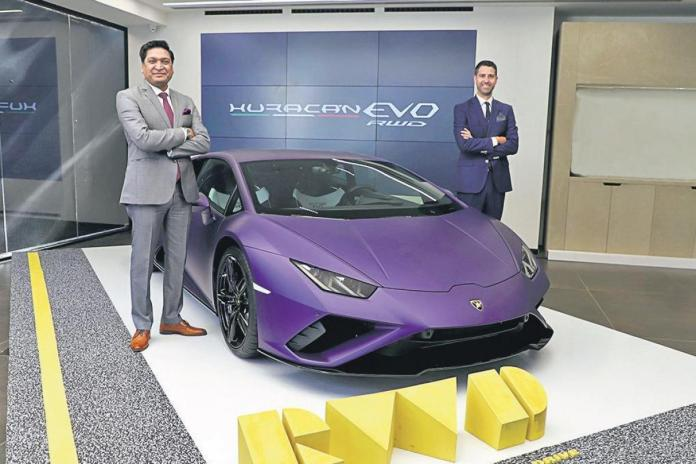 Lamborghini launches