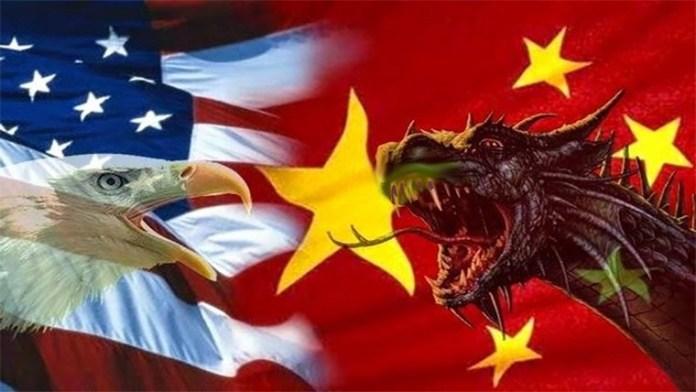 china dragon us eagle