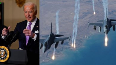 ebene magazine the first military operation ordered by joe biden .. consent to attack pro iranian forces in syria ta
