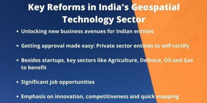 Key Reforms in Indias Geospatial Technology Sector logo 3