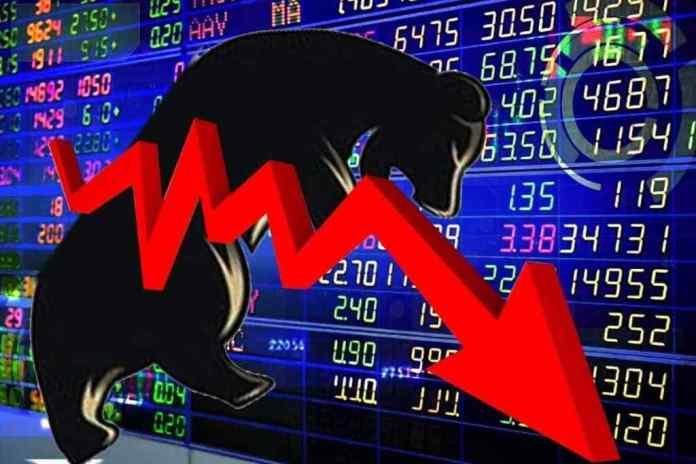 Stock market stock market crash Sensex breaks 1999 points Nifty 1024x683 1