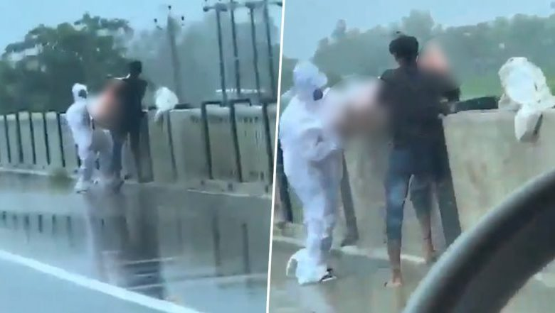 6 shocking video shows covid patients body being thrown in river in up 784x441 1