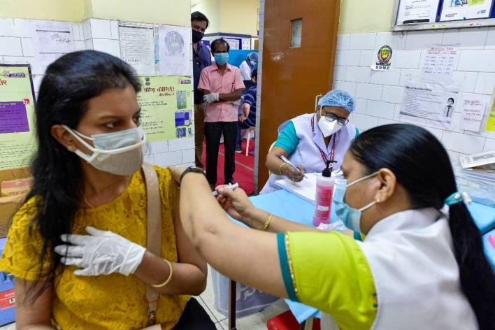delhi corona vaccine centre pti photo