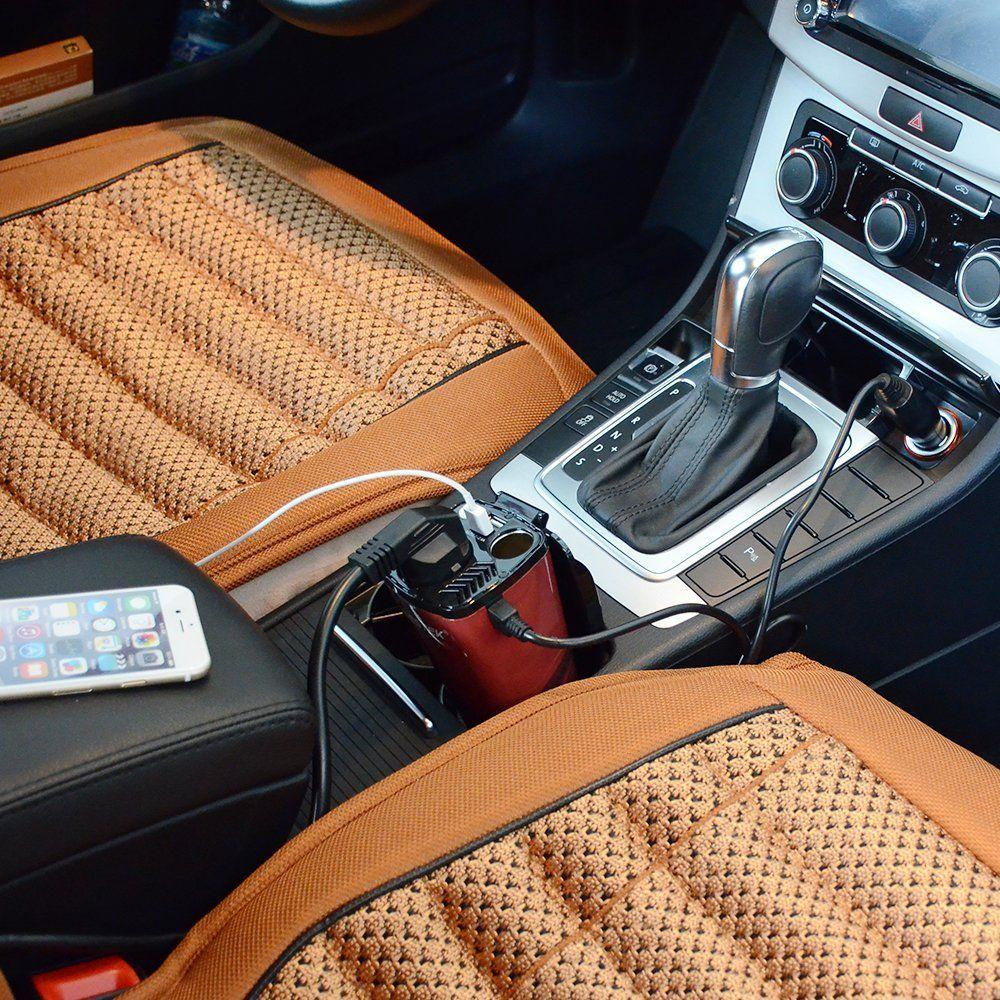 Inversor de corriente: Enchufa tu portátil en el coche