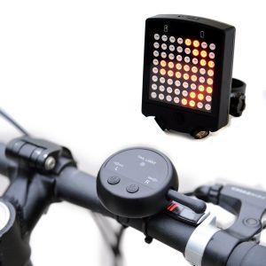 intermitentes para bicicletas panel LED