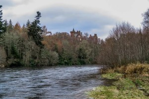 Beaufort Castle on River Beauly