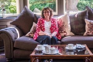 Susan at Bunchrew House
