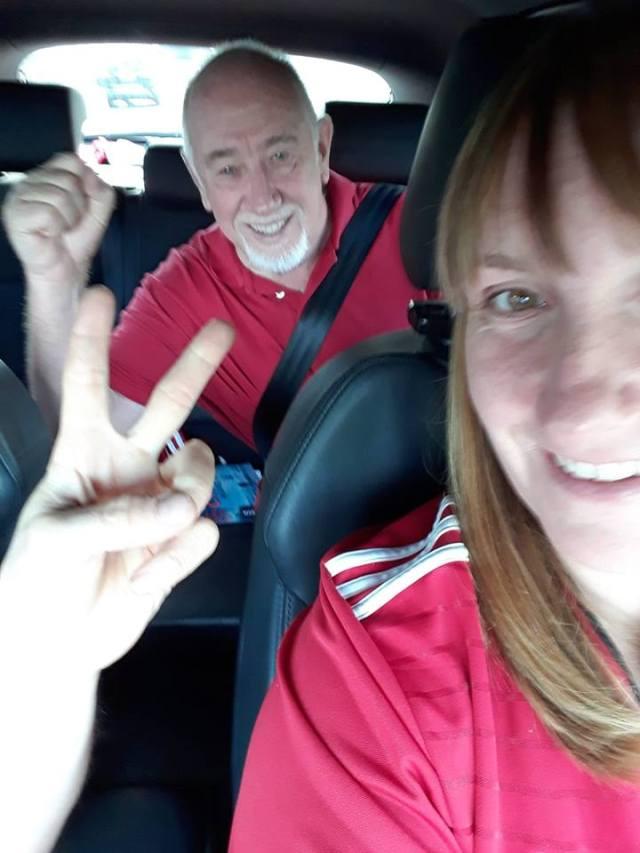 Hazel Knight on Facebook - Road trip.........COYR ⚽️