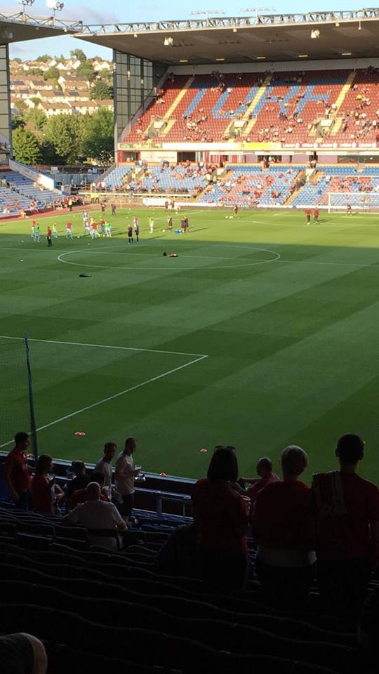 John Herriot on Facebook - 🙏COYR — attending Burnley v Aberdeen at Turf Moor.