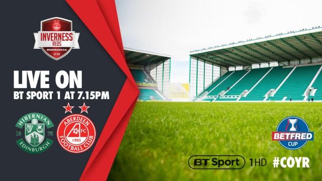 Hibs v Aberdeen BT Sport