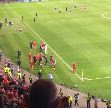 Aberdeen v The Rangers League Cup Semi Final 2018