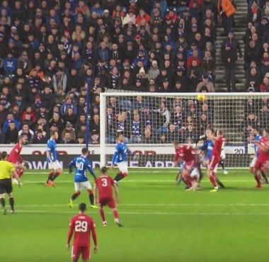 The Rangers 0 v Aberdeen 1