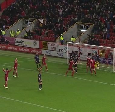 Aberdeen 5 v Dundee 1