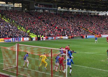 Aberdeen 1 v The Rangers 1