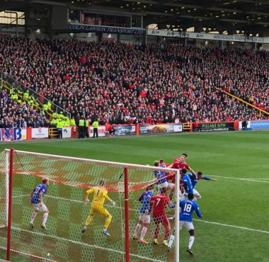 Aberdeen 1 v The Rangers 1