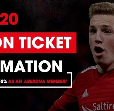 Aberdeen FC Season Tickets