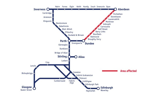 ScotRail Engineering Work
