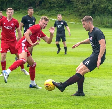 Aberdeen v Connah's Quay Nomads
