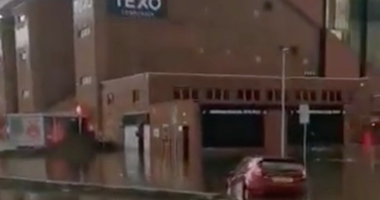 Pittodrie Flooding