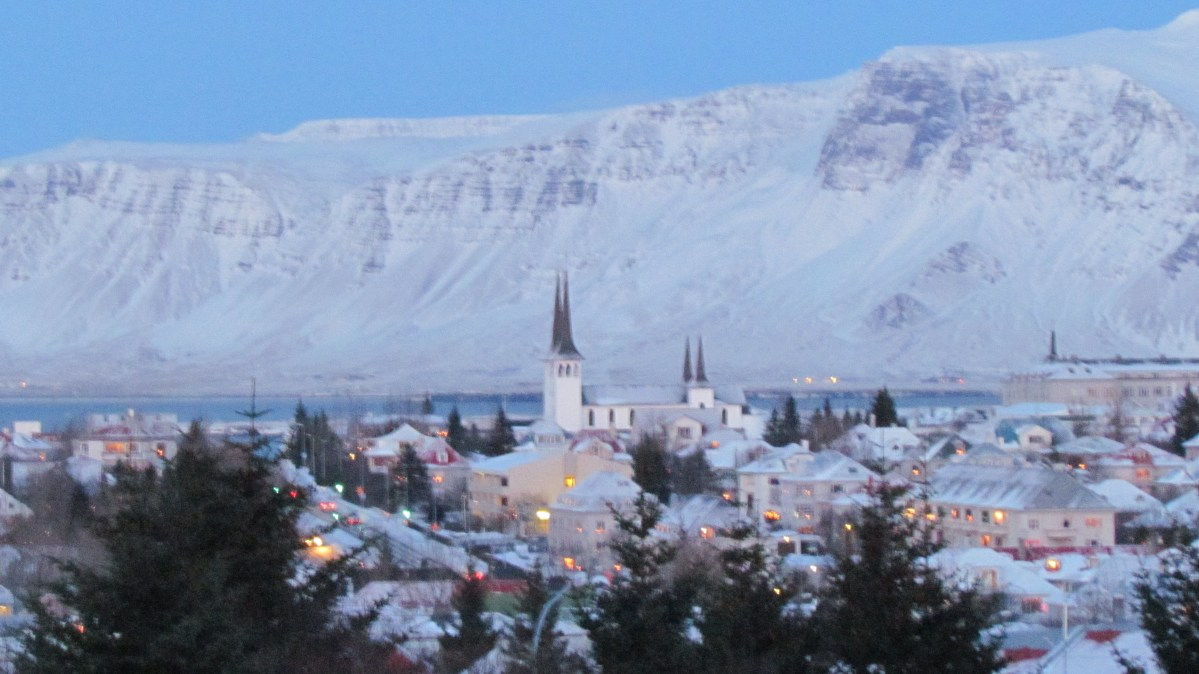 Wintry Reykjavik