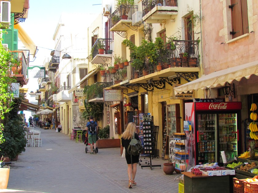 Old Chania street