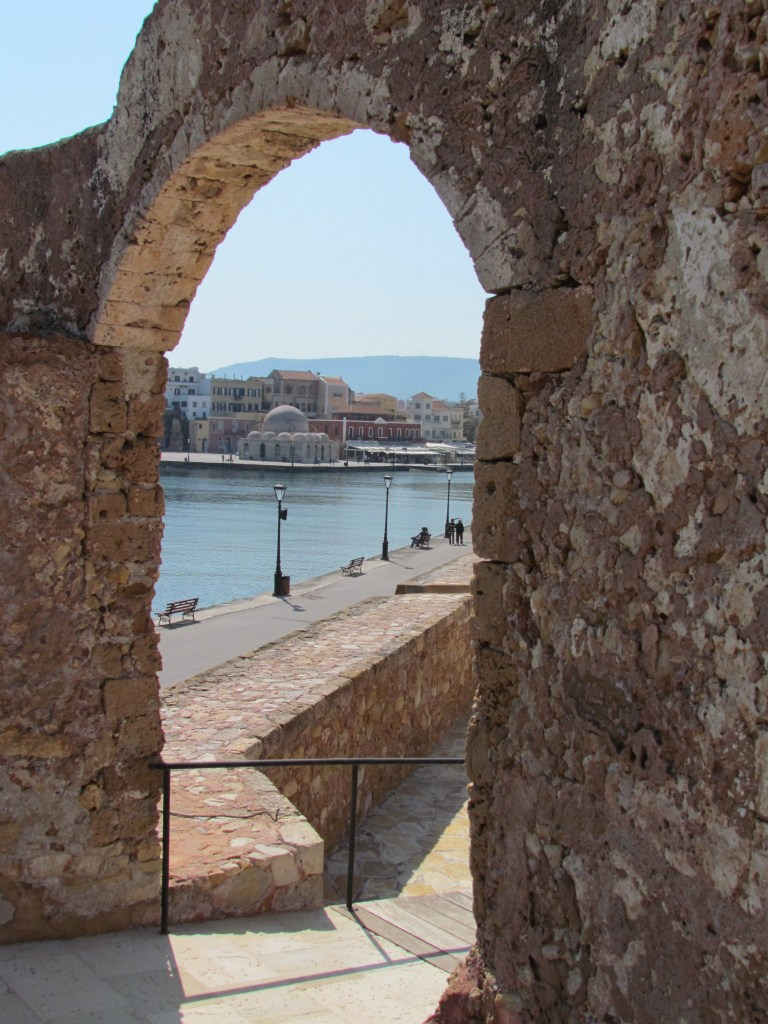 Ventian Harbour, Chania, from the fort