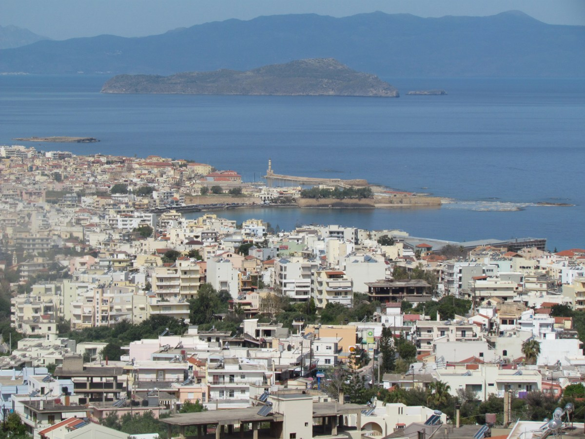 Chania from above