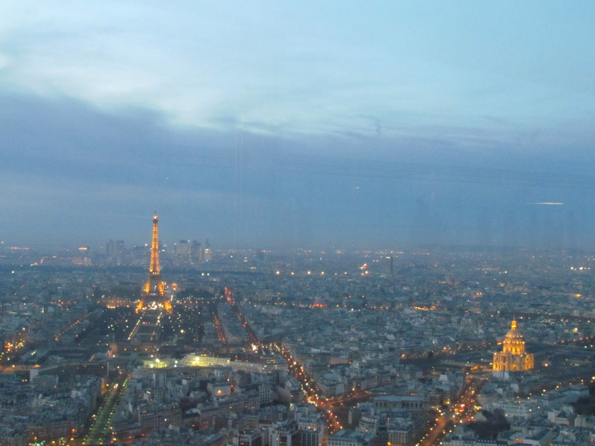 view from the Montparnasse Tower