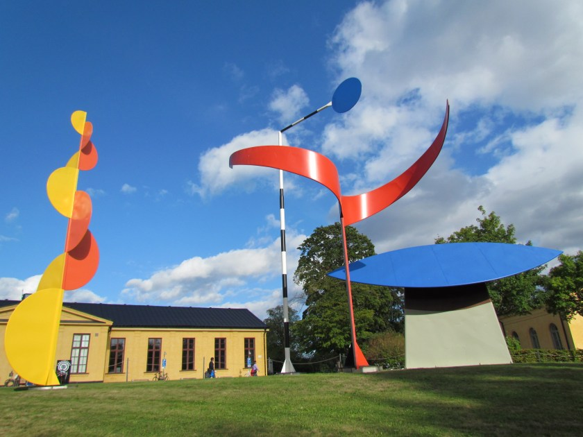 art installation outside Moderna Museet, Stockholm