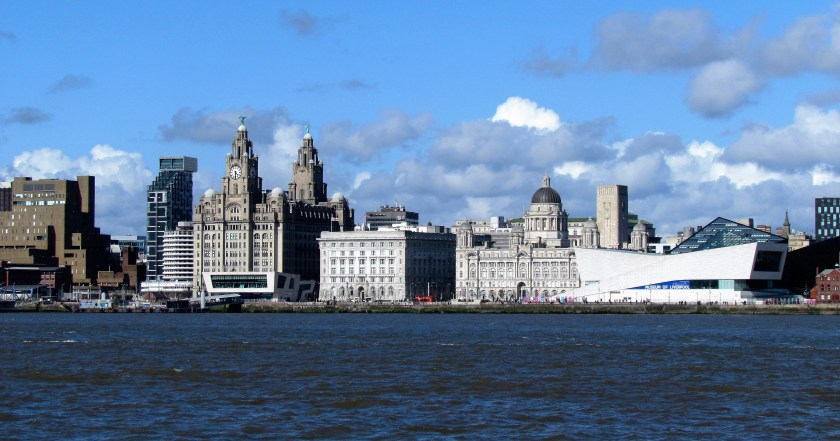 Liverpool from the water
