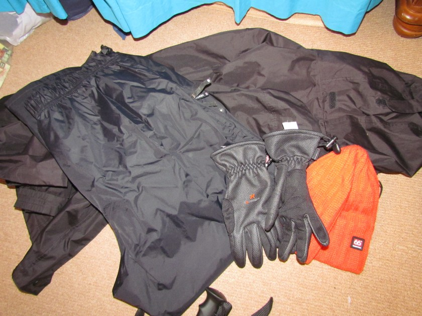 waterproofs