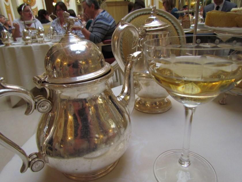 champagne and tea