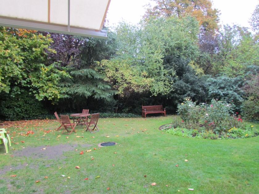 Freud Museum, back garden