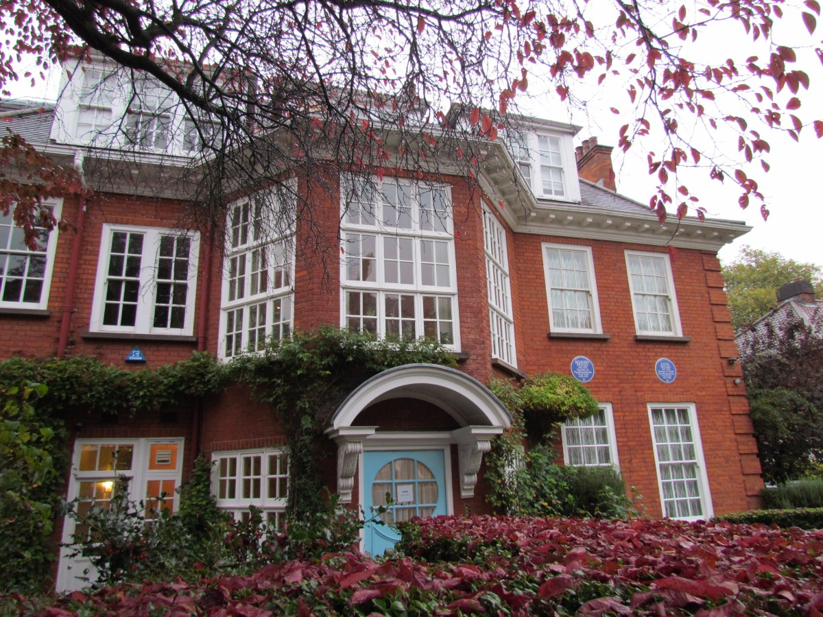 Freud Museum, front of house