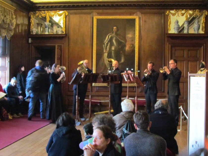 Live music in the Queen's Gallery, Kensington Palace