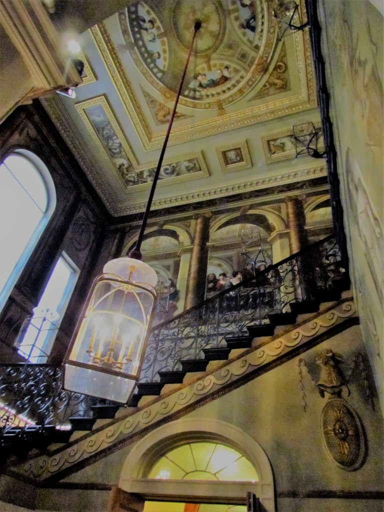 Staircase in the King's Apartments, Kensington Palace