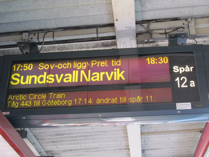 Arctic Circle train - is Sweden really expensive?