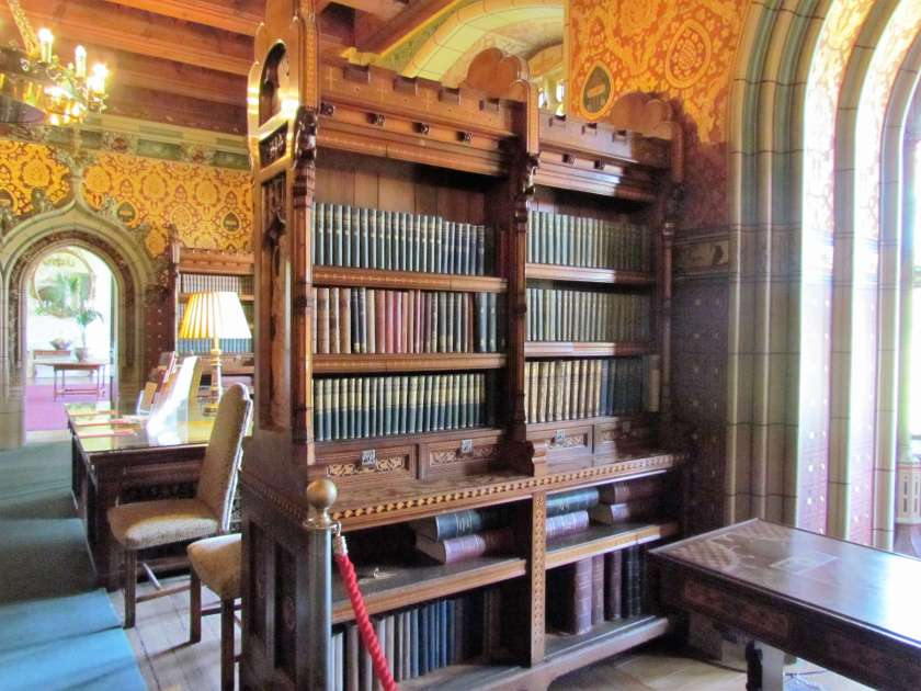 Cardiff Castle - library