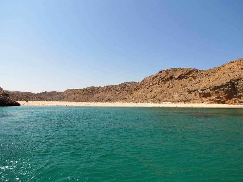 boat trip in the Gulf of Oman - goodbye 2017 ... hello 2018