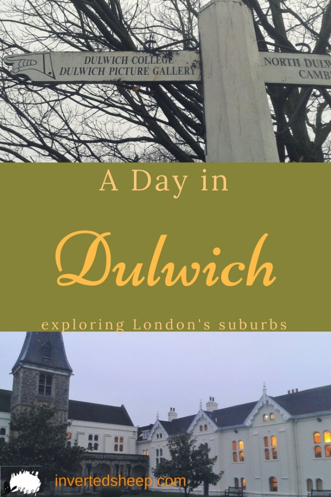 A Day in Dulwich - Inverted Sheep
