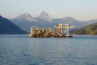 Kröger Industriegreifer im Unterwassereinsatz