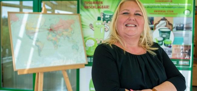 Sandra Zielinsky, Geschaeftsfuehrerin der Zielinsky Universal-Stein GmbH & Co. KG