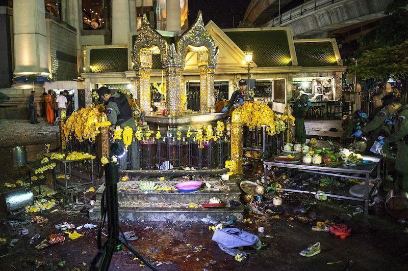 Deadly Blasts Shock Thai Economy